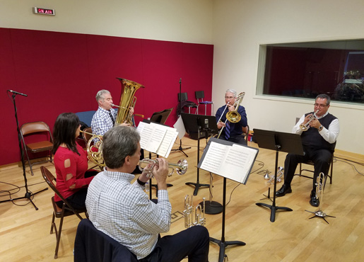 Tower Brass Quintet at WGTE