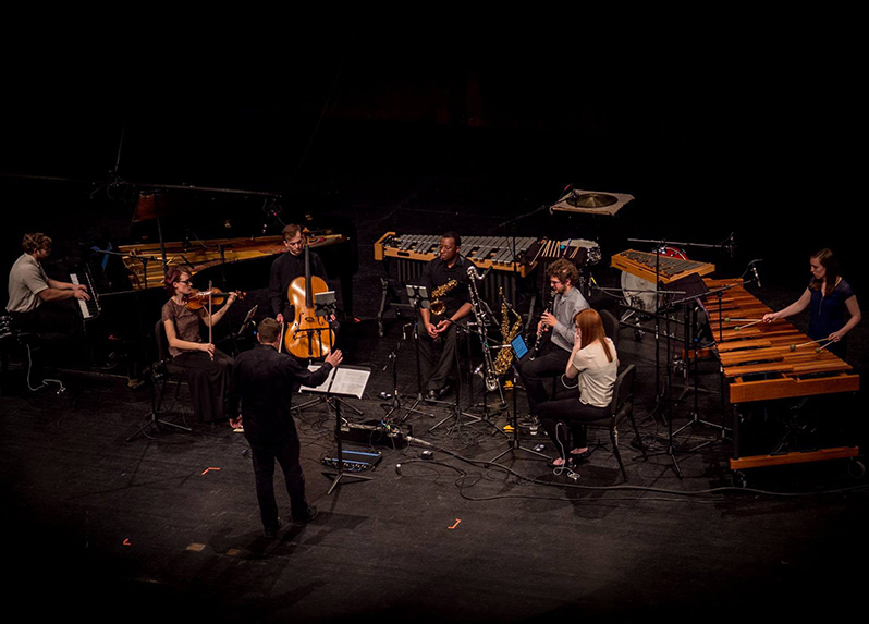Grand Valley State University New Music Ensemble (credit: SALT Arts Documentation)