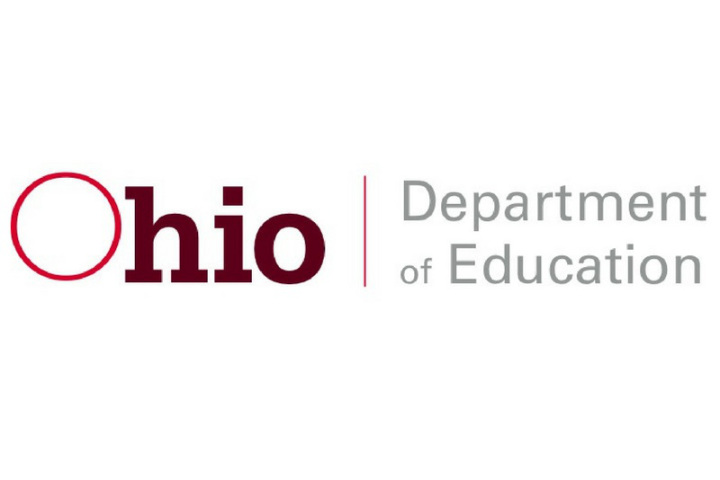 text red and black ohio department education
