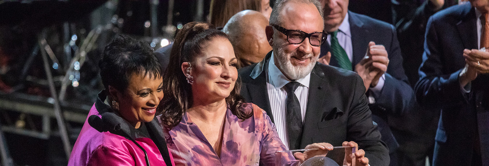 Emilio & Gloria Estefan: The Library of Congress Gershwin Prize for Popular Song - lg slider