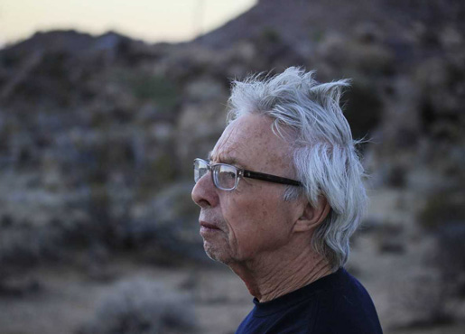 Genre-defying artist and composer Harold Budd. Photo by  Terrence Budd