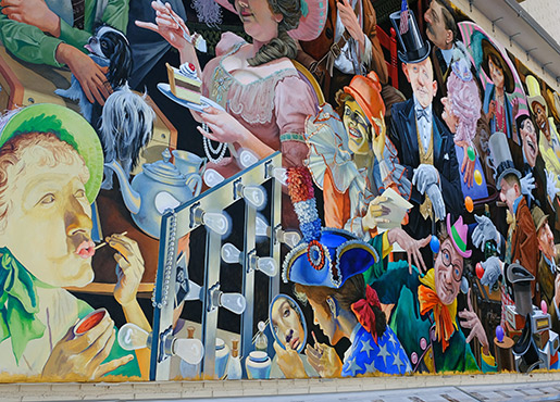 The Mural at the Valentine (credit: Stephanie Elton/Toledo Opera)