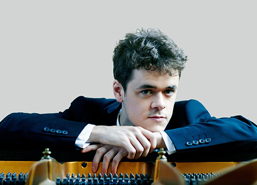 Benjamin Grosvenor by Decca/Sophie Wright