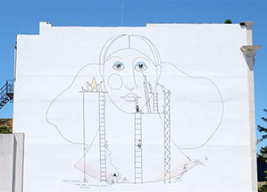 Specifications - One Star Placed in the Center on Adams and 11th street by artists: Judy Dilloway/Maura Amato