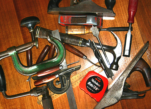 A workman's tools