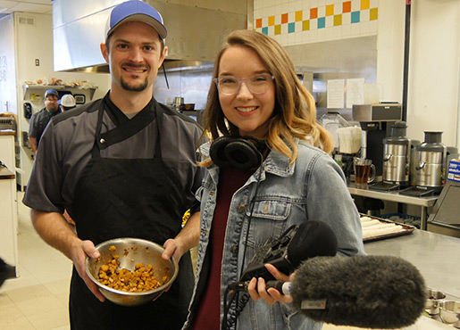 Haley and Scott at Fowl and Fodder