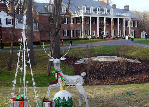 Holidays at the Manor House
