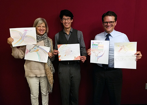 TSLAB panelists and their Firebird Sketches