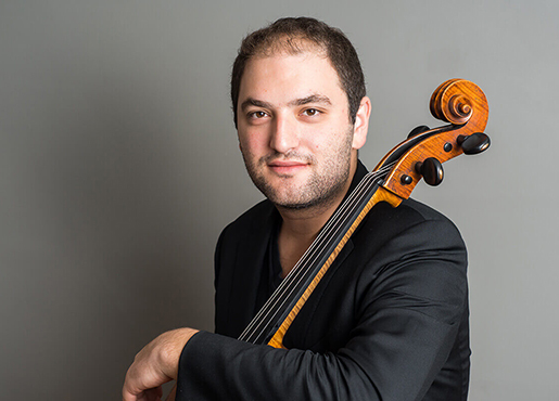 Cellist Julian Schwarz