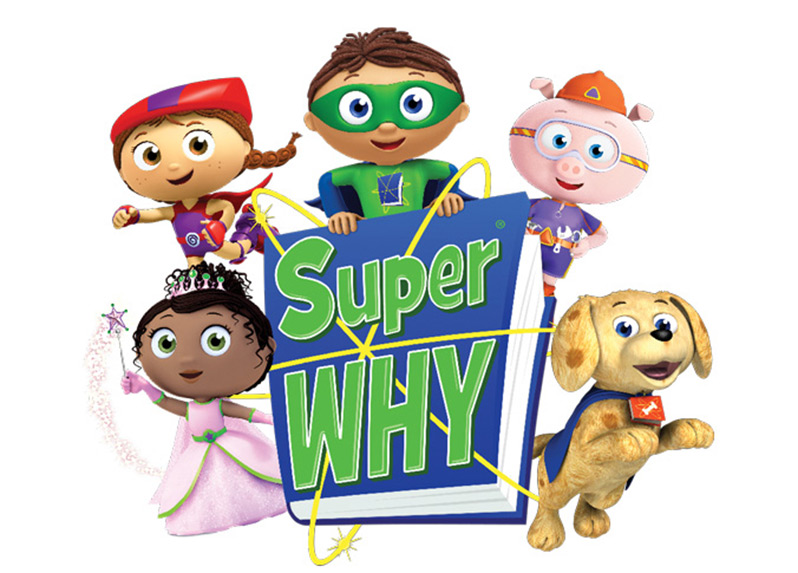 Super Why on Learning The Alphabet