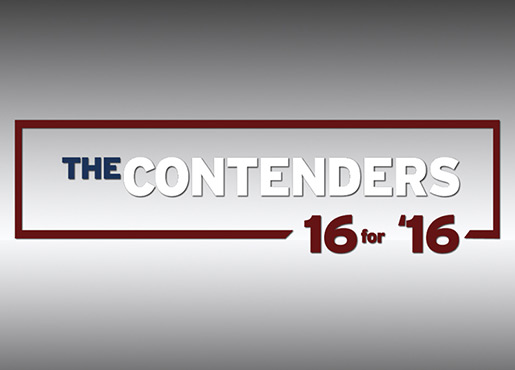 The Contenders 16 for 16 Logo