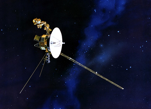 The Farthest Voyager in Space Small
