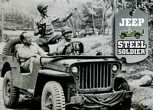 Historical Jeep Photograph
