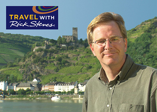Rick Steves in Europe